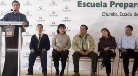 EN GIRA de trabajo por los municipios de Otumba yTeotihuacán